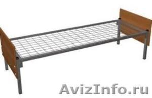 Металлические кровати для строителей, рабочих, студентов - Изображение #3, Объявление #543256