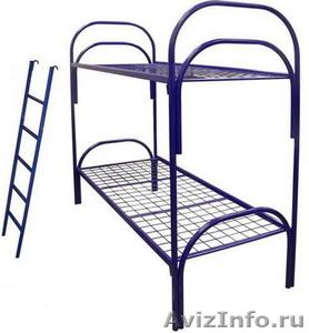 Металлические кровати для строителей, рабочих, студентов - Изображение #6, Объявление #543256