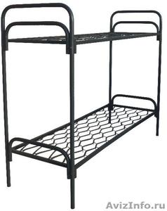 Металлические кровати для строителей, рабочих, студентов - Изображение #2, Объявление #543256