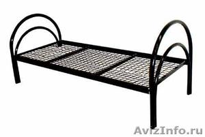 Металлические кровати для строителей, рабочих, студентов - Изображение #5, Объявление #543256
