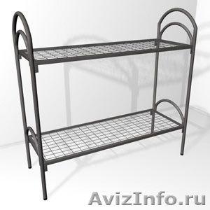 кровати для рабочих, кровати металлические одноярусные, кровати двухъярусные - Изображение #5, Объявление #700357