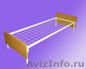 кровати для рабочих, кровати металлические одноярусные, кровати двухъярусные - Изображение #4, Объявление #700357