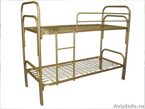 кровати для рабочих, кровати металлические одноярусные, кровати двухъярусные - Изображение #6, Объявление #700357