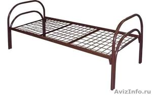 кровати для рабочих, кровати металлические одноярусные, кровати двухъярусные - Изображение #2, Объявление #700357