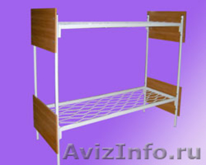 Кровати металлические для турбаз, кровати для гостиницы, кровати дёшево - Изображение #3, Объявление #1479381