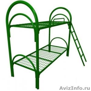 Кровати металлические двухъярусные для рабочих, кровати металлические оптом - Изображение #4, Объявление #1479545