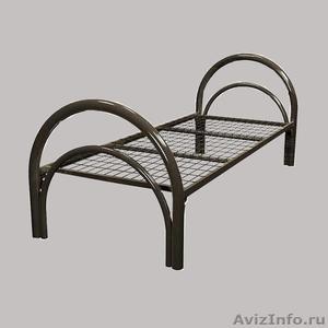 Кровати металлические для турбаз, кровати для гостиницы, кровати дёшево - Изображение #1, Объявление #1479381