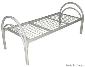 Кровати металлические двухъярусные для рабочих, кровати металлические оптом - Изображение #1, Объявление #1479545
