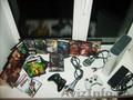 Продам Xbox 360 Arcade прошитый (полная комплектация,  плюс беспроводной черный д
