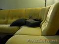 диван угловой желтый б/у