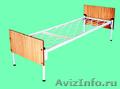 кровати двухъярусные, кровати металлические одноярусные, кровати для турбаз опт - Изображение #5, Объявление #700361