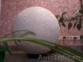 шар фонтан из бетона
