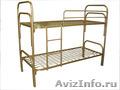 Кровати железные одноярусные для санаториев, кровати металлические оптом. - Изображение #3, Объявление #1479838